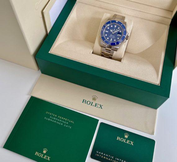 A NEW ROLEX SUBMARINER FULL BLUE MODEL 116619LB 1