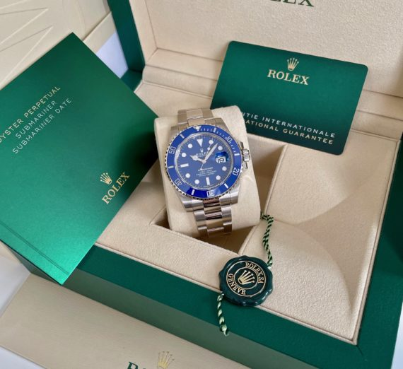 A NEW ROLEX SUBMARINER FULL BLUE MODEL 116619LB 2