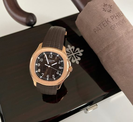 ROSE GOLD AQUANAUT MODEL 5167R-001 5
