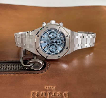18CT WHITE GOLD ROYAL OAK LIMITED EDITION MODEL 26317BC.OO.1256BC.01 4