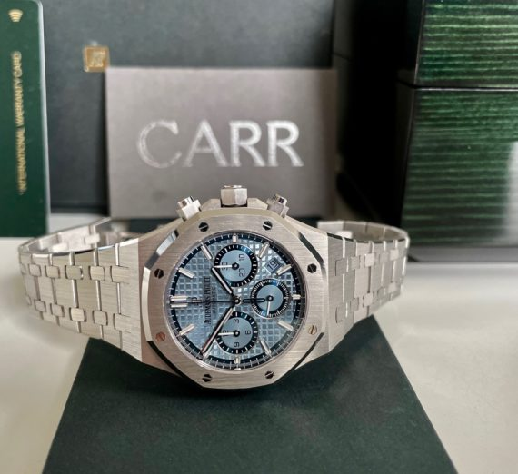 18CT WHITE GOLD ROYAL OAK LIMITED EDITION MODEL 26317BC.OO.1256BC.01 8