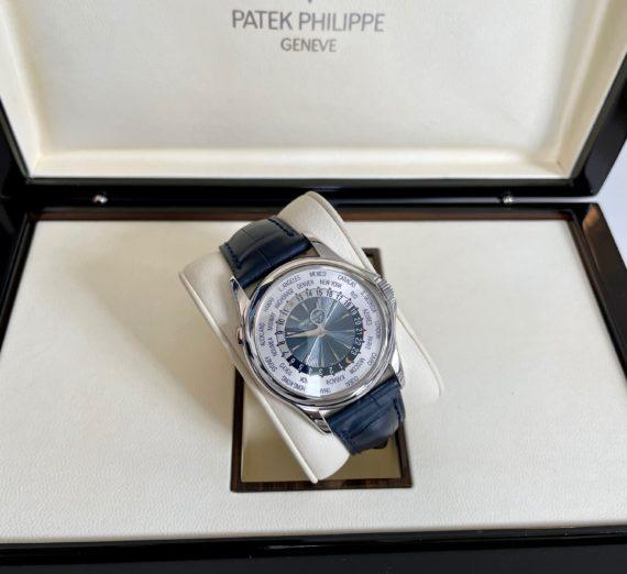 PATEK PHILIPPE WORLD TIME IN PLATINUM MODEL 5130P-001 7