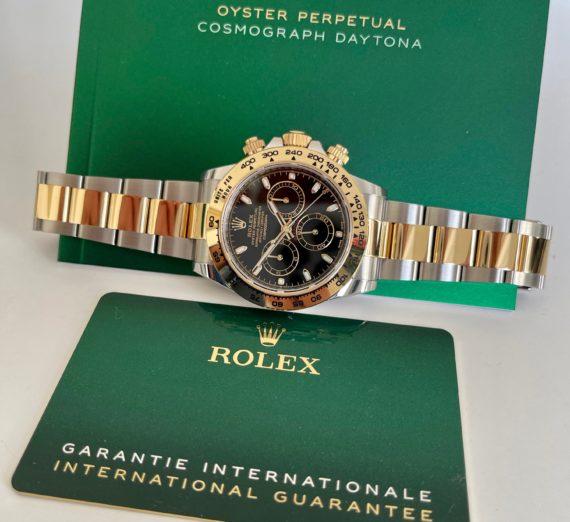 ROLEX DAYTONA MADE IN STEEL & 18CT YELLOW GOLD MODEL 116503 5