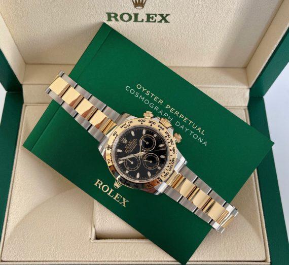 ROLEX DAYTONA MADE IN STEEL & 18CT YELLOW GOLD MODEL 116503 6