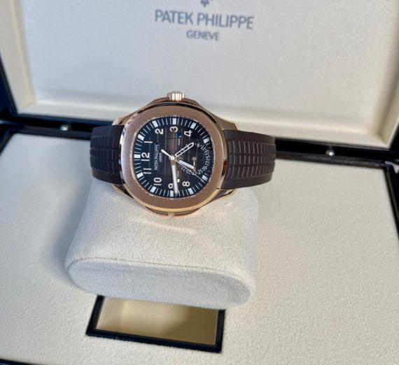 PATEK PHILIPPE AQUANAUT TRAVEL TIME MODEL 5167R 10