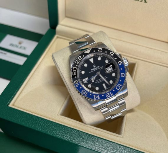 ROLEX GMT BLUE-BLACK BEZEL MODEL 116710BLNR 3