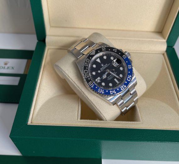 ROLEX GMT BLUE-BLACK BEZEL MODEL 116710BLNR 4