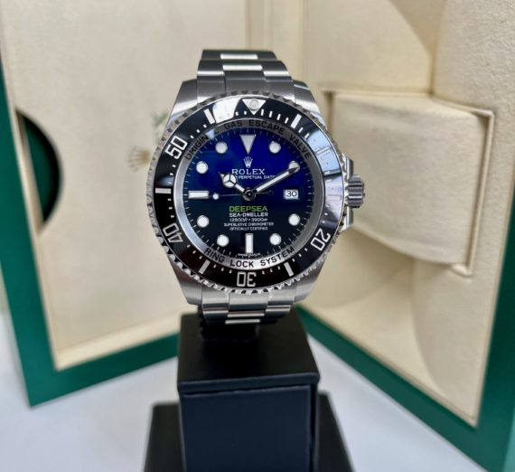 ROLEX SEA-DWELLER DEEP BLUE MODEL 116600 9