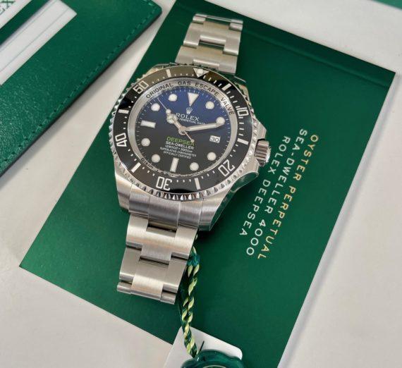 ROLEX SEA-DWELLER DEEP BLUE MODEL 116600 2