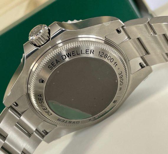 ROLEX SEA-DWELLER DEEP BLUE MODEL 116600 4