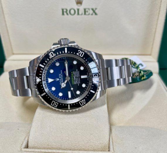 ROLEX SEA-DWELLER DEEP BLUE MODEL 116600 8
