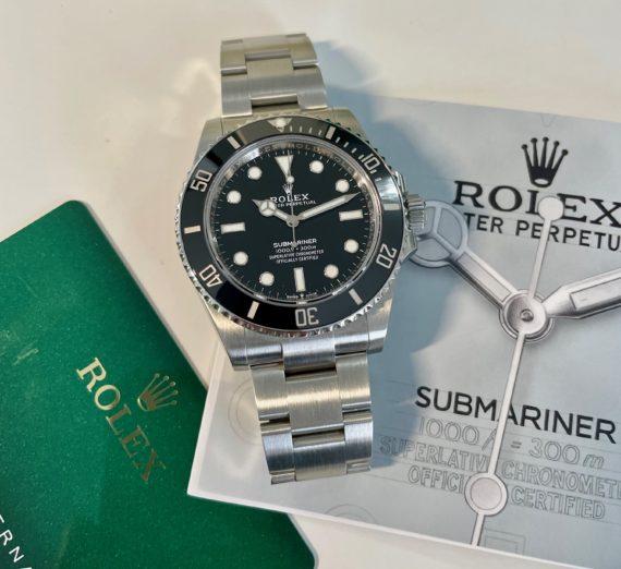 ROLEX SUBMARINER 41MM CASE MODEL 124060 11